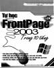 Ebook Tự học frontPage 2003 trong 10 tiếng: Phần 1