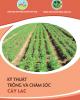 Ebook Kỹ thuật trồng và chăm sóc cây lạc
