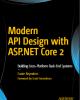 Ebook Modern API design with ASP.NET core 2
