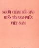 Ebook Người Chàm Hồi giáo miền Tây Nam phần Việt Nam: Phần 1