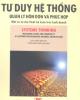 Ebook Tư duy hệ thống - Quản lý hỗn độn và phức hợp: Phần 1