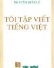 Ebook Tôi Tập viết Tiếng Việt