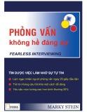 Ebook Phỏng vấn không hề đáng sợ - Vũ Thái Hà