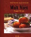 Ebook Mứt Việt vị ngon Tết xưa: Phần 1 - NXB Phụ Nữ