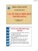 Bài giảng Miễn dịch học: Chương 6 - ThS. Nguyễn Thành Luân