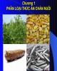 Bài giảng Thức ăn chăn nuôi: Chương 1 (2017)
