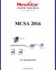 Giáo trình MCSA 2016