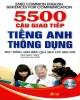 Ebook 5500 câu giao tiếp tiếng Anh thông dụng: Phần 2