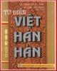 Ebook Từ điển Việt - Hán - Hàn: Phần 3