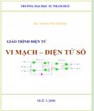 Giáo trình điện tử vi mạch - điện tử số: Phần 1 - NXB Huế