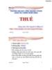 Bài giảng Thuế: Chương 1 - ThS. Nguyễn Lê Hồng Vỹ