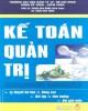 Ebook Kế toán quản trị: Phần 1 - PGS.TS. Phạm Văn Dược (Chủ biên)