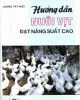 Ebook Hướng dẫn nuôi vịt đạt năng xuất cao: Phần 1