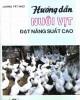 Ebook Hướng dẫn nuôi vịt đạt năng xuất cao: Phần 2