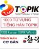 Ebook 1000 từ vựng tiếng Hàn topik: Phần 1