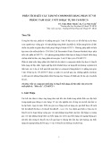 PHÂN TÍCH KẾT CẤU TẤM/VỎ COMPOSITE BẰNG PHẦN TỬ VỎ PHẲNG TAM GIÁC 3 NÚT 18 BẬC TỰ DO CS-MITC3+