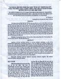 VẬN DỤNG PHƯƠNG PHÁP DẠY HỌC TÍCH CỰC TRONG DẠY KỸ NĂNG NÓI MÔN TĂNG CƯỜNG TIẾNG ANH LỚP 6 Ở TP HCM THEO HƯỚNG TÍCH CỰC HÓA HỌC SINH