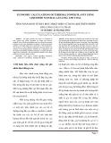 TÍNH TOÁN KINH TẾ NHÀ MÁY NHIỆT ĐIỆN SỬ DỤNG KHÍ THIÊN NHIÊN HÓA LỎNG(LNG) VÀ THAN