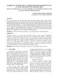 NGHIÊN CỨU ẢNH HƯỚNG CỦA NHIỆT ĐỘ DƯỠNG HỘ ĐẾN ỨNG XỬ CỦA CỌC RỖNG BÊ TÔNG GEOPOLYMER
