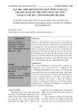 DẠY HỌC THEO ĐỊNH HƯỚNG PHÁT TRIỂN NĂNG LỰC CHO HỌC SINH TIỂU HỌC MÔN TIẾNG VIỆT LỚP 3 TẠI QUẬN THỦ ĐỨC, THÀNH PHỐ HỒ CHÍ MINH