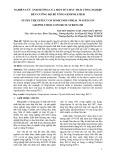 NGHIÊN CỨU ẢNH HƯỞNG CỦA MỘT SỐ CHẤT THẢI CÔNG NGHIỆP ĐÉN CƯỜNG ĐỘ BÊ TÔNG GEOPOLYMER