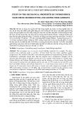 NGHIÊN CỨU TÍNH CHẤT CƠ HỌC CỦA GẠCH KHÔNG NUNG SỬ DỤNG ĐÁ MI VÀ CHẤT KẾT DÍNH GEOPOLYMER