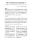 NGHIÊN CỨU THIẾT KẾ CẢI TIẾN VÀ CHẾ TẠO MÁY BÓC VỎ TRỨNG CÚT BÁCH THẢO NĂNG SUẤT 2000 TRỨNG/GIỜ