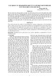 XÁC ĐỊNH CẤU HÌNH KHÔNG ĐỔI CỦA LƯỚI ĐIỆN PHÂN PHỐI ĐỂ TỔN THẤT ĐIỆN NĂNG BÉ NHẤT