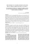 PHÂN TÍCH KẾT CẤU TẤM PHÂN LỚP CHỨC NĂNG (FGM) CHỊU TẢI TRỌNG CƠ NHIỆT BẰNG PHẦN TỬ CS-MITC3+