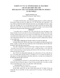 NGHIÊN CỨU VỀ CÁC MÔ HÌNH ĐỊNH GIÁ TRÁI PHIẾU  CHUYỂN ĐỔI TRÊN THẾ GIỚI  RESEARCH ON  THE CONVERTIBLE BOND PRICING MODELS  IN THE WORLD