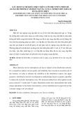 XÁC ĐỊNH VỊ TRÍ KHÓA ĐIỆN TRÊN LƯỚI ĐIỆN PHÂN PHỐI ĐỂ GIẢM CHI PHÍ PHÁT SINH DO NGỪNG CUNG CẤP ĐIỆN ĐẾN KHÁCH  HÀNG DÙNG ĐIỆN  DETERMINING THE LOCATION OF SWITCHES ON ELECTRICAL DISTRIBUTION NETWORK FOR REDUCION OF CUSTOMER  INTERRUPTION COST