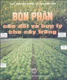 Ebook Bón phân cân đối và hợp lý cho cây trồng - NXB Nông nghiệp