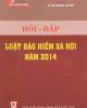 Ebook Hỏi - Đáp luật bảo hiểm xã hội năm 2014: Phần 2
