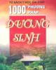 Ebook 1000 phương pháp dưỡng sinh chữa bách bệnh: Phần 1 - Xuân Thiều