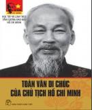 Ebook Toàn văn di chúc của Chủ tịch Hồ Chí Minh - NXB Trẻ