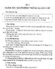 Giáo trình Điều dưỡng ngoại khoa - Bài 6