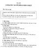 Giáo trình Điều dưỡng ngoại khoa - Bài 28