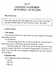 Giáo trình Điều dưỡng ngoại khoa - Bài 29