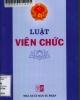 Ebook Luật viên chức Việt Nam năm 2010