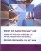Ebook Nguy cơ đánh trùng thuế chống bán phá giá và chống trợ cấp đối với nền kinh tế phi thị trường – Bài học kinh nghiệm cho Việt Nam: Phần 1