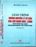 Ebook Giáo trình Những nguyên lý cơ bản của chủ nghĩa Mác-Lênin: Phần 1 - PGS. TS. Nguyễn Viết Thông