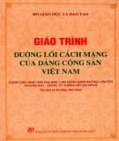 Ebook Giáo trình Đường lối cách mạng của đảng cộng sản Việt Nam - Phần 2
