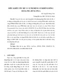 Điều khiển tốc độ và vị trí động cơ không đồng bộ ba ph dùng FPGA