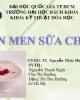 Bài thuyết trình Công nghệ thực phẩm - Bài: Lên men sữa chua