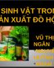 Bài thuyết trình Công nghệ thực phẩm - Bài: Vi sinh vật trong sản xuất đồ hộp
