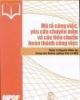 Ebook Mô tả công việc - yêu cầu chuyên môn và các tiêu chuẩn hoàn thành công việc