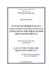 Tư tưởng Hồ Chí Minh về dân vận và sự vận dụng vào công tác dân vận ở huyện Quảng Ninh tỉnh Quảng Bình trong giai đoạn hiện nay