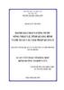 Đánh giá chất lượng nước sông Nhật Lệ, tỉnh Quảng Bình và đề xuất các giải pháp quản lý
