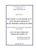 Hiện trạng và giải pháp quản lý chất thải rắn sinh hoạt ở huyện Minh Hóa, tỉnh Quảng Bình