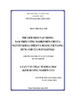 Thế giới nhân vật trong Nam triều công nghiệp diễn chí của Nuyễn Khoa Chiêm và Hoàng Việt Long, Hưng chí của Ngô Giáp Đậu